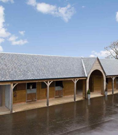 A bespoke equestrian building