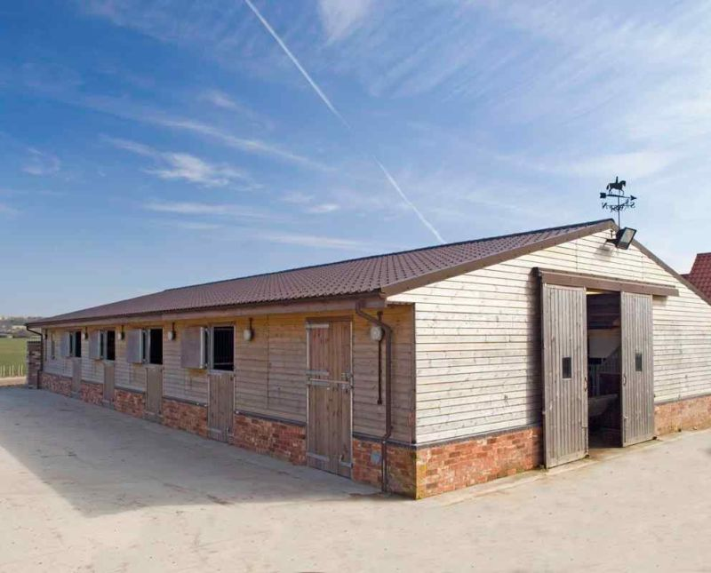 Barn With Ten Stalls Store Rooms And Toilets