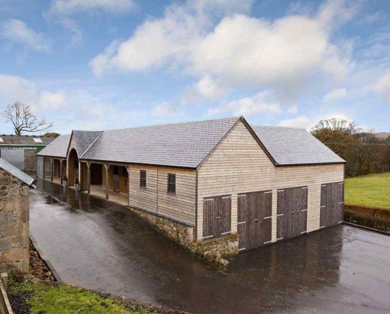 Timber Garage Scheme In Renfrewshire