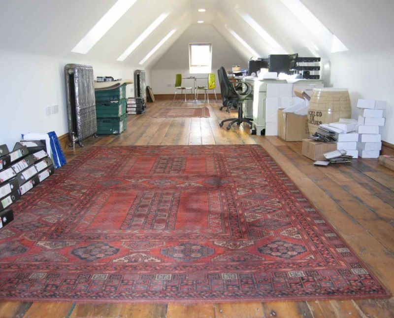Bespoke garage block with room above staffordshire for Garage block