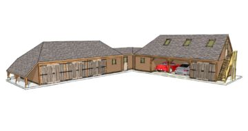 l shaped garage plans timber building design ideas 20281