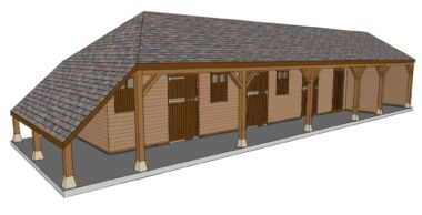 Design Ideas for Stables, American Barns & Equestrian Buildings