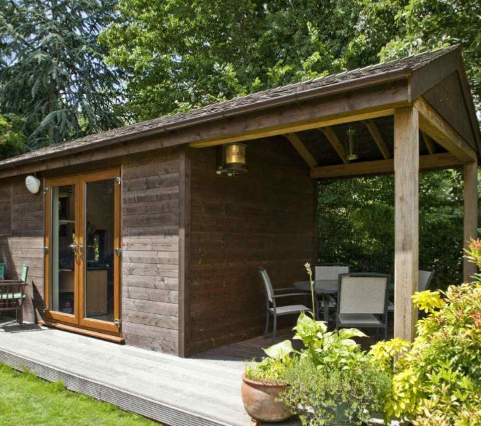 Bespoke eco garden rooms offices gyms studios pods for Modular garden rooms