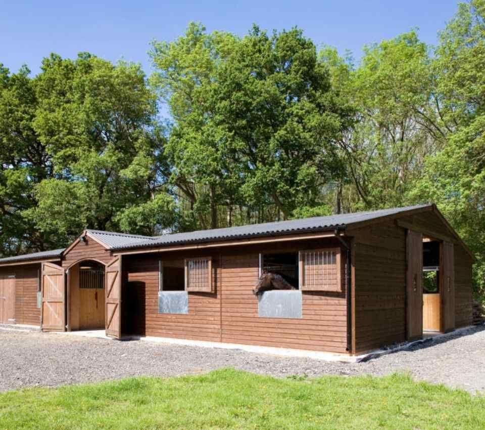 Bespoke American style barn stable